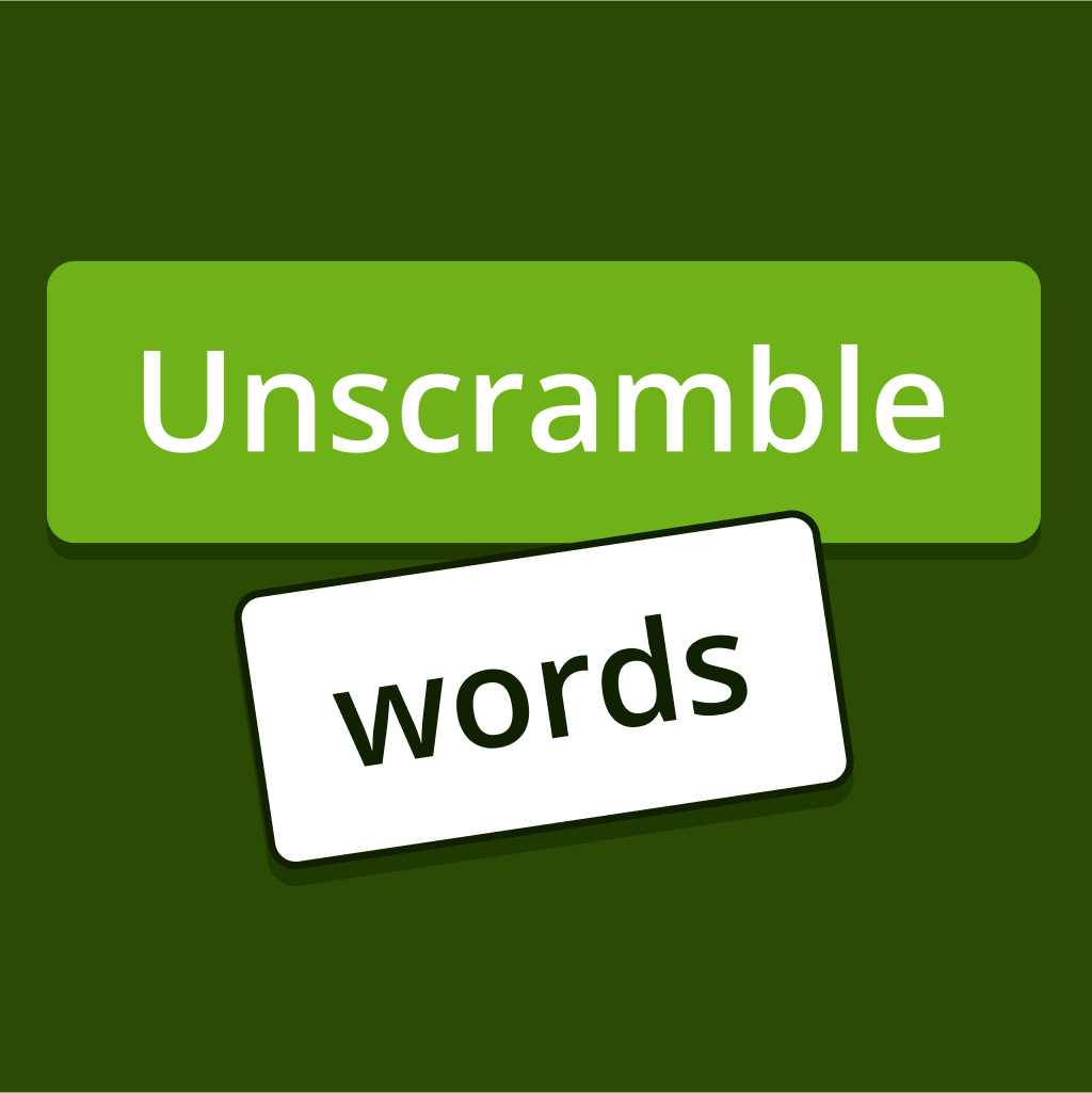 Unscramble Words Game